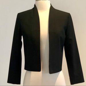 Ann Taylor Black Cropped Blazer